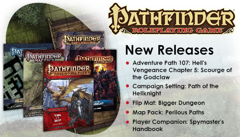 Pathfinder Releases - June 30, 2016