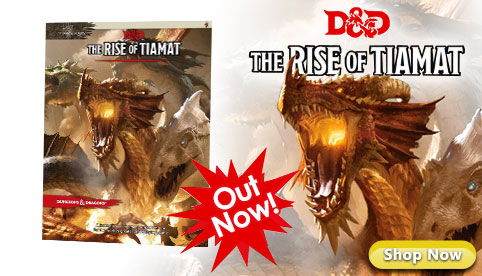 Dungeons and Dragons The Rise of Tiamat