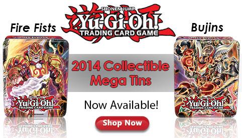 2014 Yu-Gi-Oh! Mega Tins