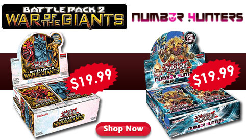 War of the Giants Number Hunters Booster Box Sale