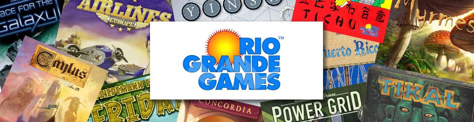 Board Games - Rio Grande Games