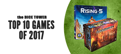 Dice Tower Top 10 Games of 2017
