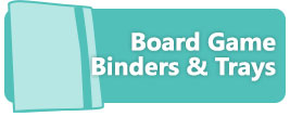 Board Game Binders and Trays