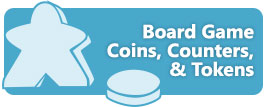 Board Game Coins, Counters, & Tokens