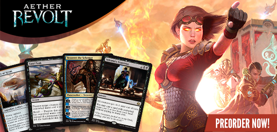 Aether Revolt Singles Available for Preorder
