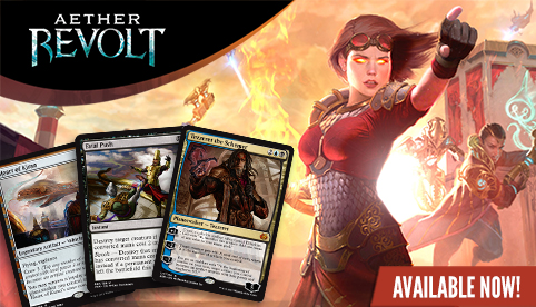 Aether Revolt Singles Available