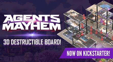 Agents of Mayhem Kickstarter