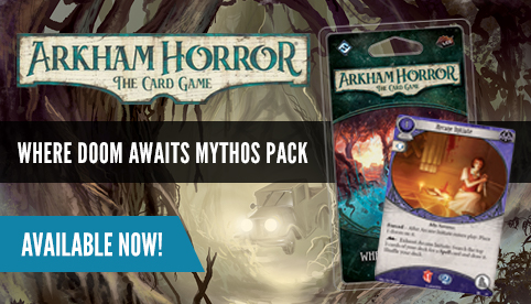 Arkham Horror LCG: Where Doom Awaits Mythos Pack