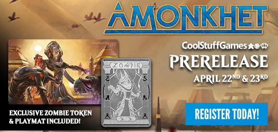 Amonkhet Prerelease Event
