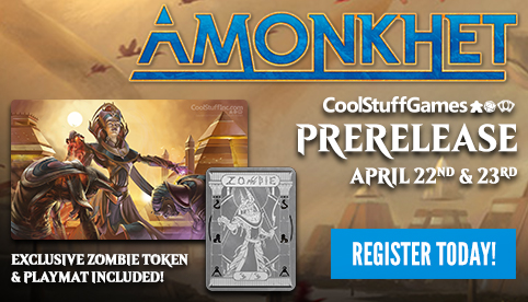Amonkhet Prerelease Event