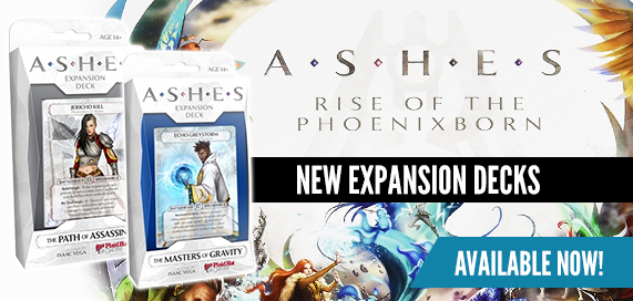 Ashes: Rise of the Phoenixborn Expansions