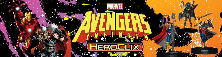 HeroClix - Avengers Infinity