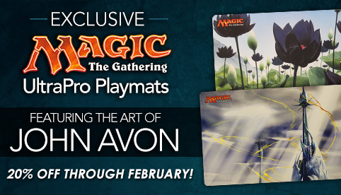 Exclusive John Avon Playmats 20% Off