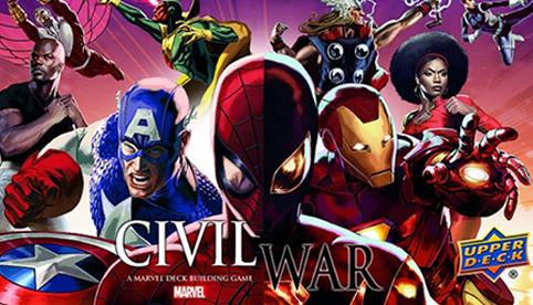 Legendary Marvel Deckbuilding Game: Civil War Expansion