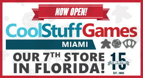 CoolStuffGames Miami Grand Opening