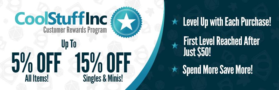 CoolStuffInc.com Customer Rewards Program
