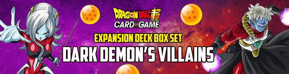 Dragon Ball Super - Expansion Deck Box Dark Demon's Villains