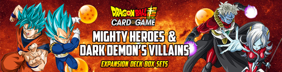Dragon Ball Super - Mighty Heroes and Dark Demons