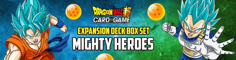 Dragon Ball Super - Expansion Deck Box Mighty Heroes