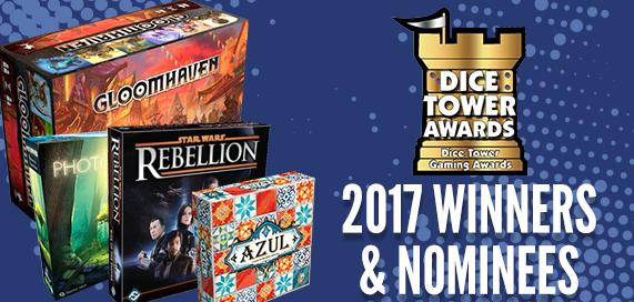 Dice Tower Awards