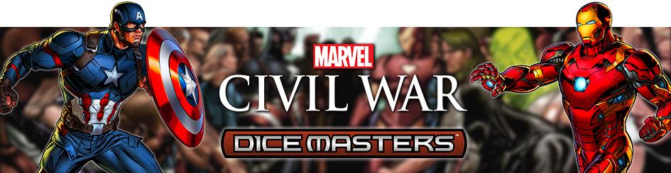 Dice Masters Civil War