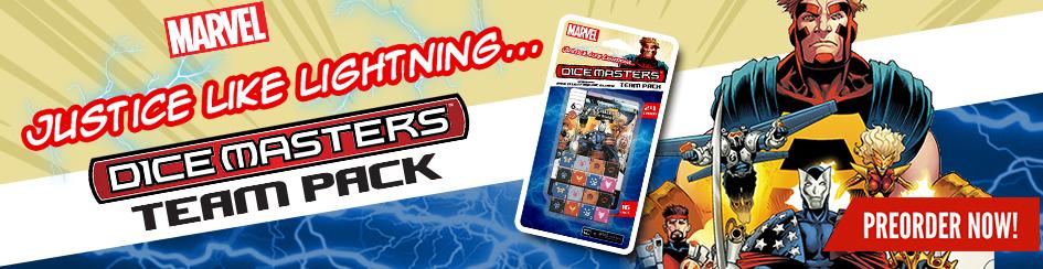 Dice Masters - Justice Like Lightning Team Pack