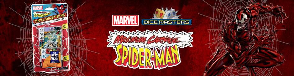 Marvel Dice Masters - Spider-Man Maximum Carnage
