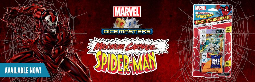 Dice Masters - Spider-Man Maximum Carnage