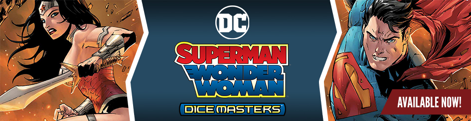 DC Dice Masters - Superman/Wonder Woman Starter Set