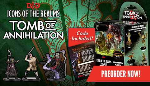 Icons of the Realms: Tomb of Annihilation