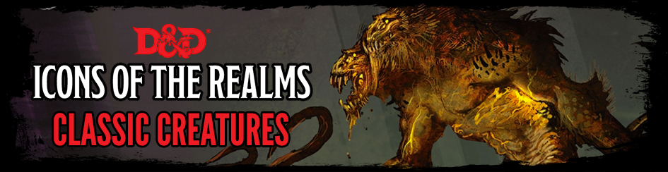 Dungeons and Dragons Icons of the Realms: Classic Creatures Box