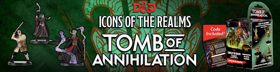 D&D Minis - Icons of the Realms: Tomb of Annihilation