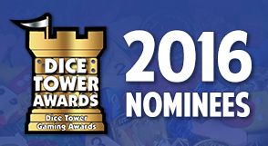 Dice Tower Awards 2016 Nominees