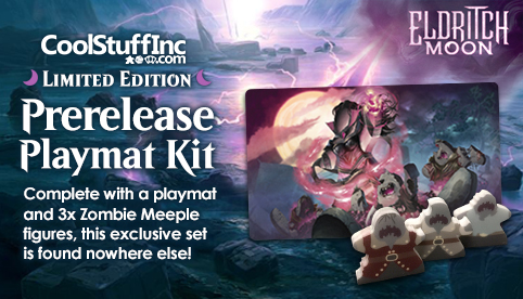 Limited Edition CoolStuffInc Prelrelease Playmat Kit