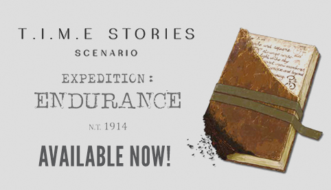 T.I.M.E Stories Expedition Endurance 1914 NT Expansion