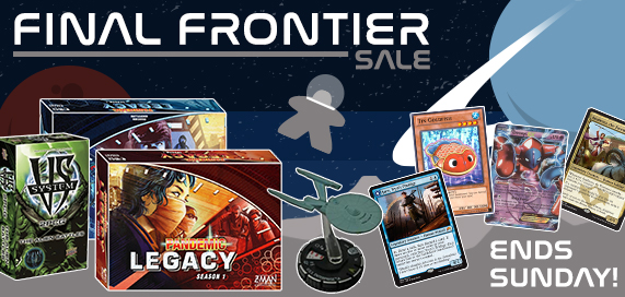 The Final Frontier Sale