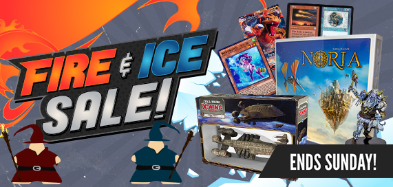 Fire and Ice Sale!