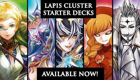Lapis Cluster Starter Decks