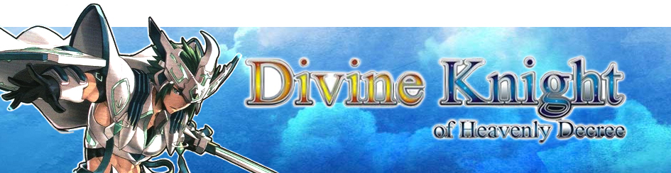 Cardfight!! Vanguard Divine Knight of Heavenly Decree