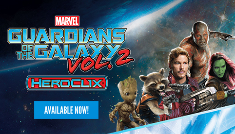 Marvel Heroclix: Guardians of the Galaxy Vol. 2