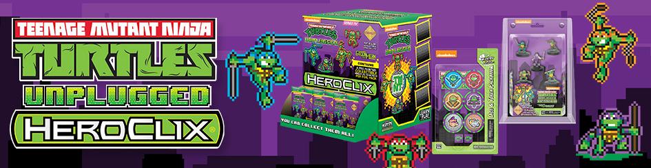 HeroClix - TMNT Unplugged