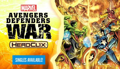 Marvel Heroclix: Avengers Defenders War