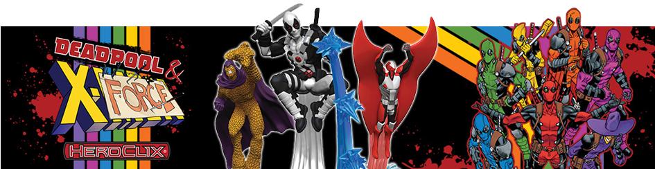 Heroclix - Deadpool and X-Force