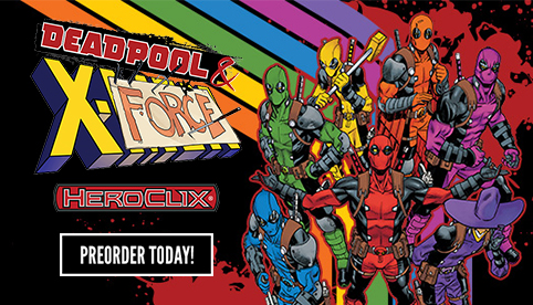 Marvel Heroclix: Deadpool and X-Force