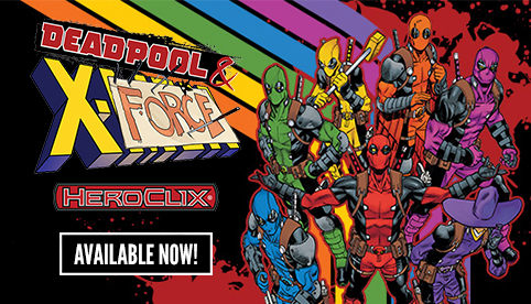 Marvel Heroclix Deadpool and X-Force
