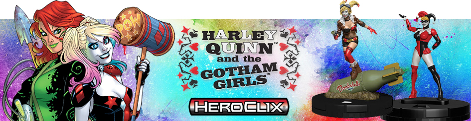 HeroClix - Harley Quinn and the Gotham Girls