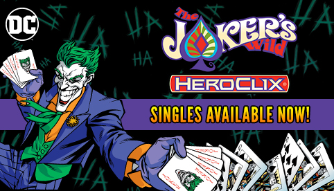 DC HeroClix: The Joker's Wild