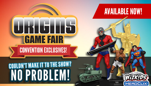 HeroClix Origins 2017 Convention Exclusives
