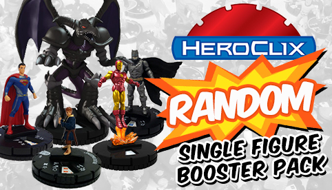 Heroclix Random Single Figure Booster Pack