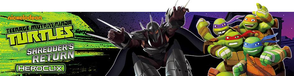 Heroclix - TMNT - Shredder's Return